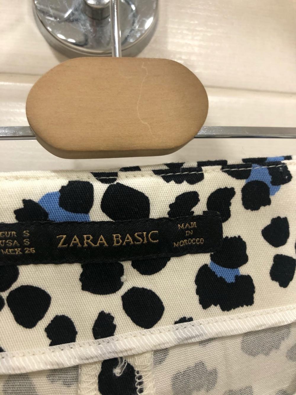 Брюки ZARA BASIC.Размер S.