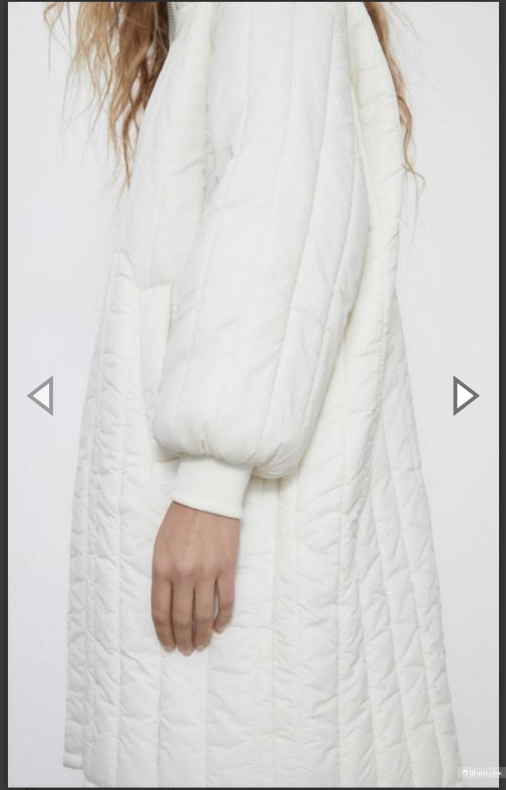 Парка Zara 2 в 1, размер S oversize