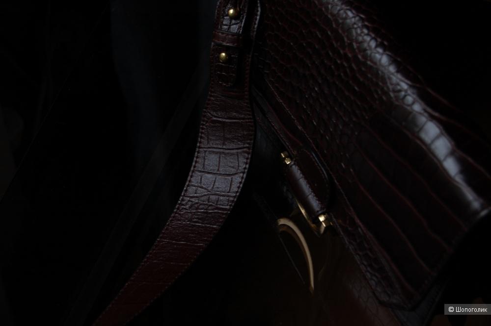 Сумка Zara натуральная кожа