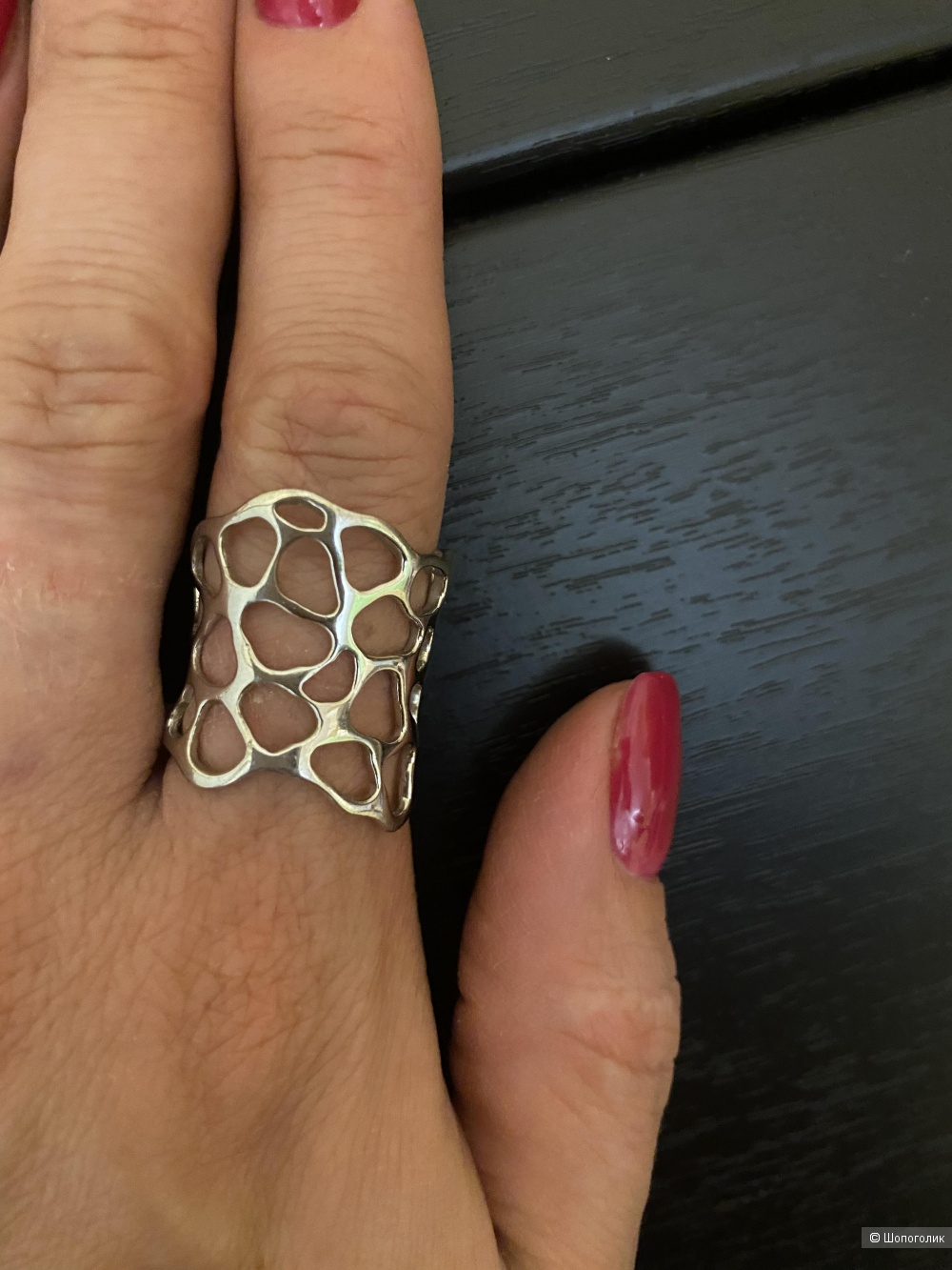 Кольцо серебро 925 пробы 17 размер