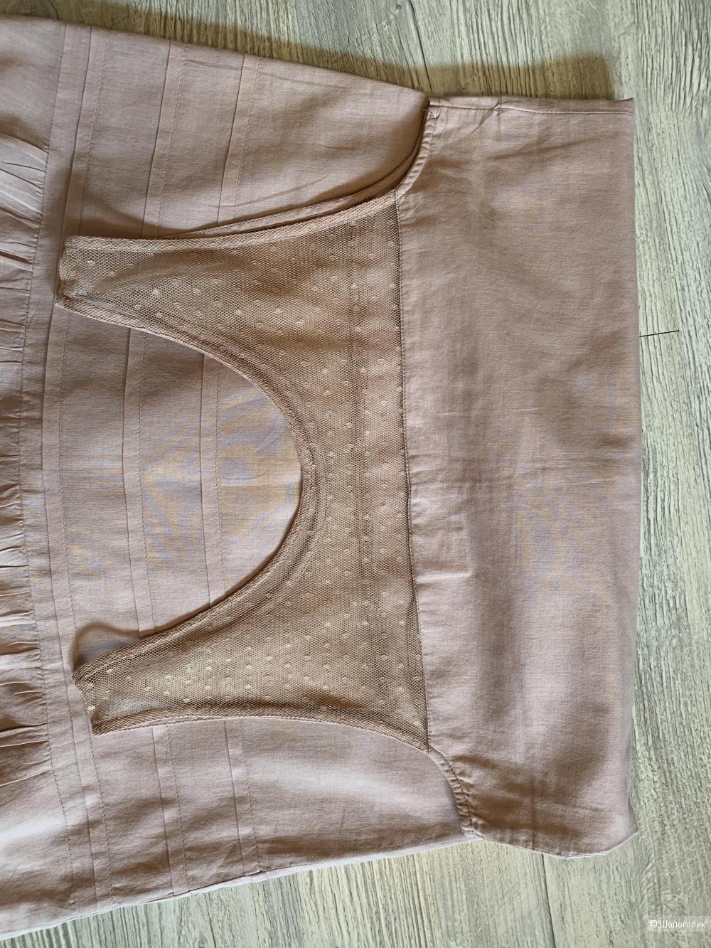 Платье из хлопка Soft Grey, р.34 eur