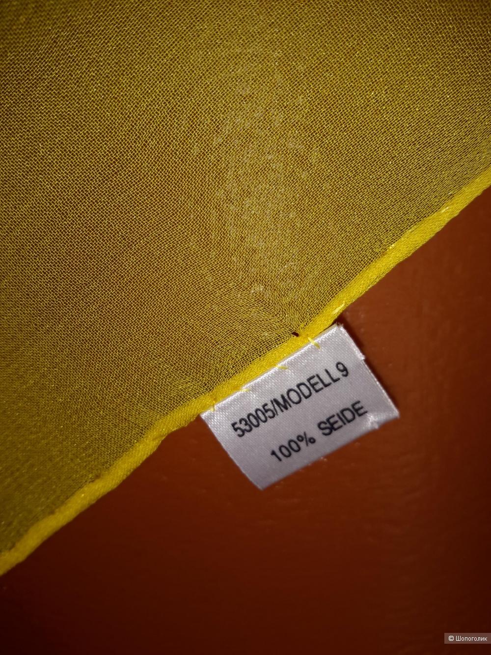 Платок из шёлка, no name, размер 88*88 см.