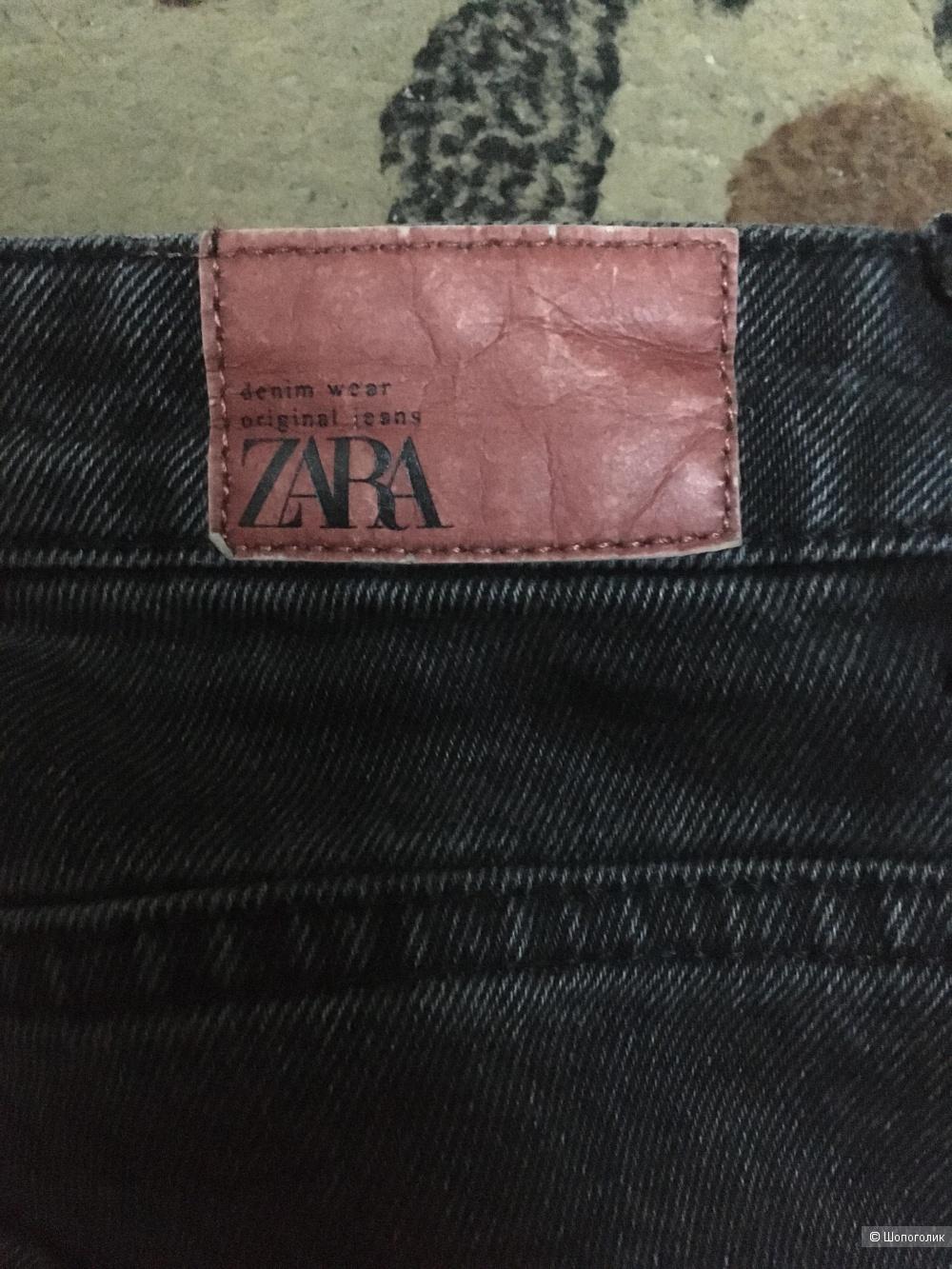 Джинсы слоучи Zara размер 36