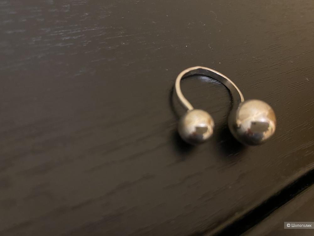 Кольцо серебро 925 пробы поцелуйчик