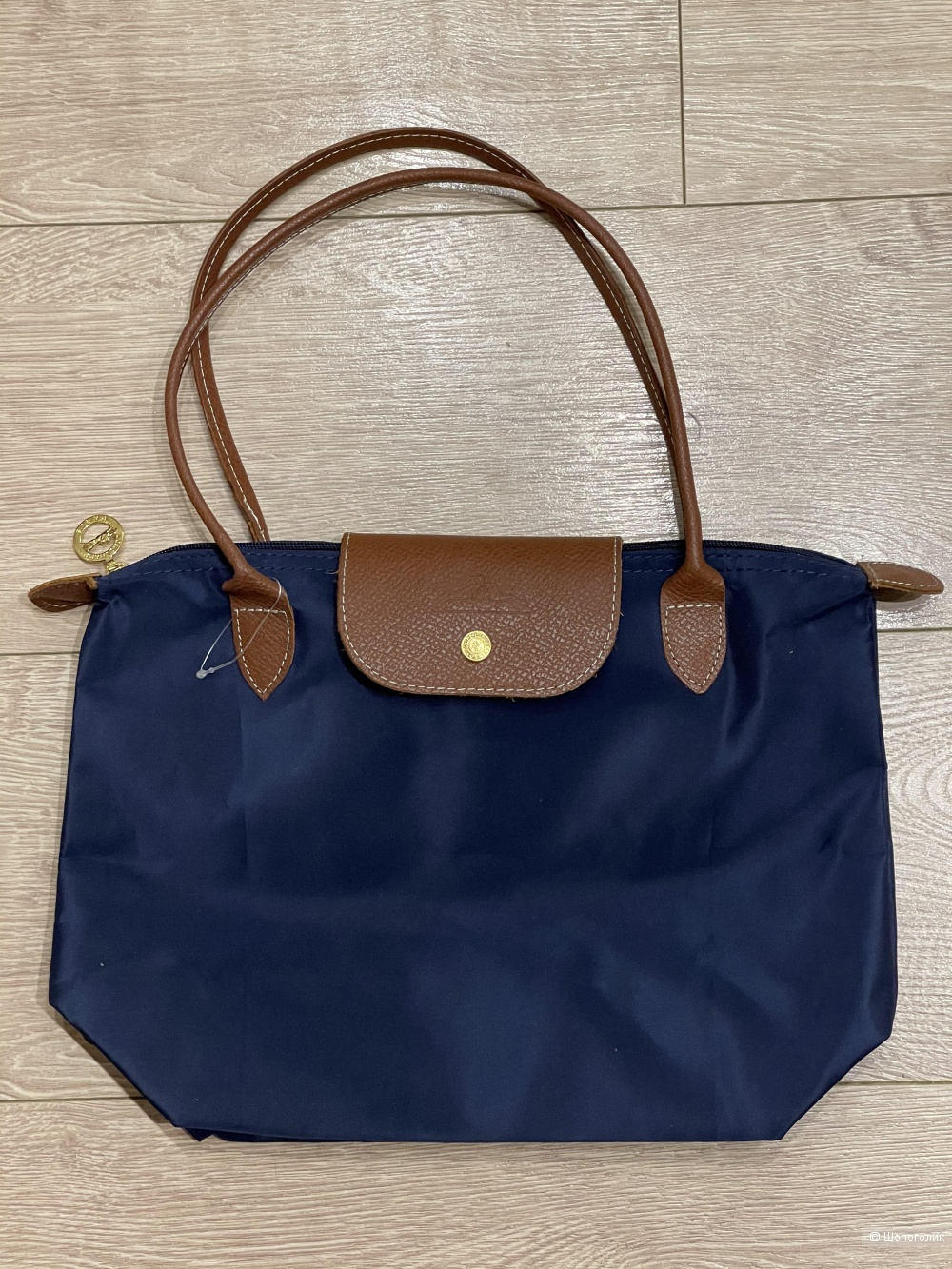 Сумка Longchamp размер 25 на 35 см