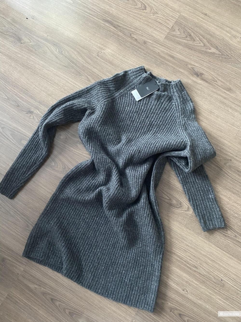 Тёплое платье/свитер Mango M