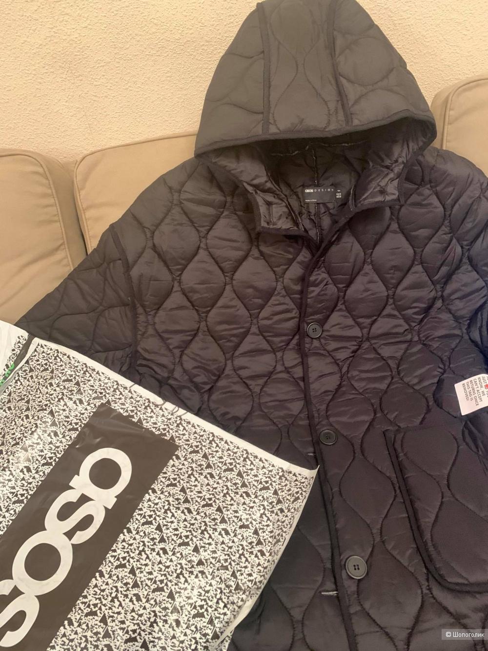 Пальто ASOS DESIGN Tall, размер 52-54