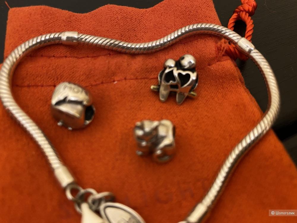 Сет украшений из серебра