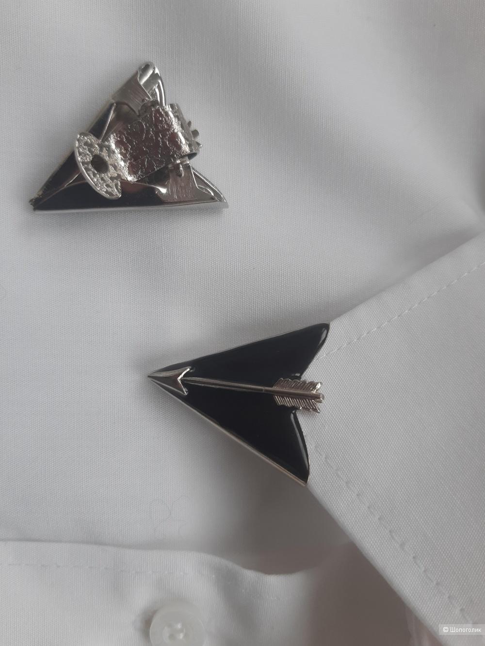 Уголки декоративные на воротник рубашки