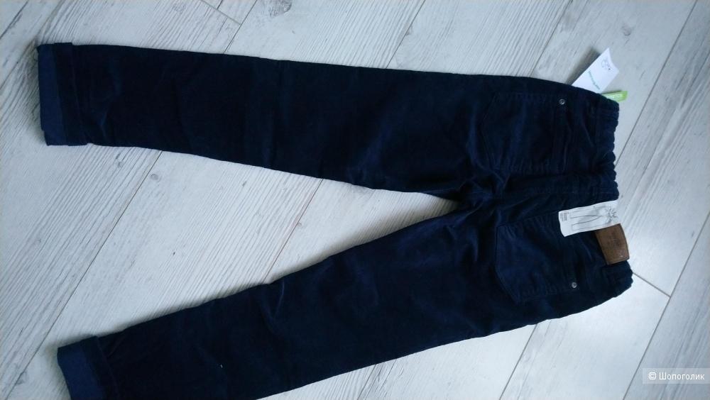 Вельветовые брюки для мальчика, 134 см