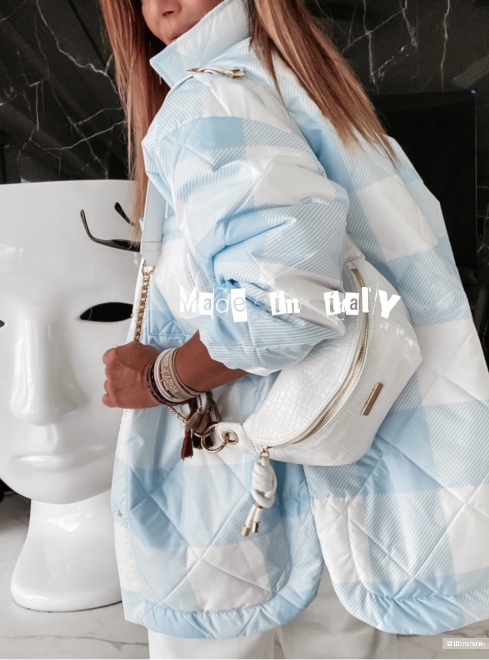 Куртка жакет стеганая MIHIS CHIARA,44-50