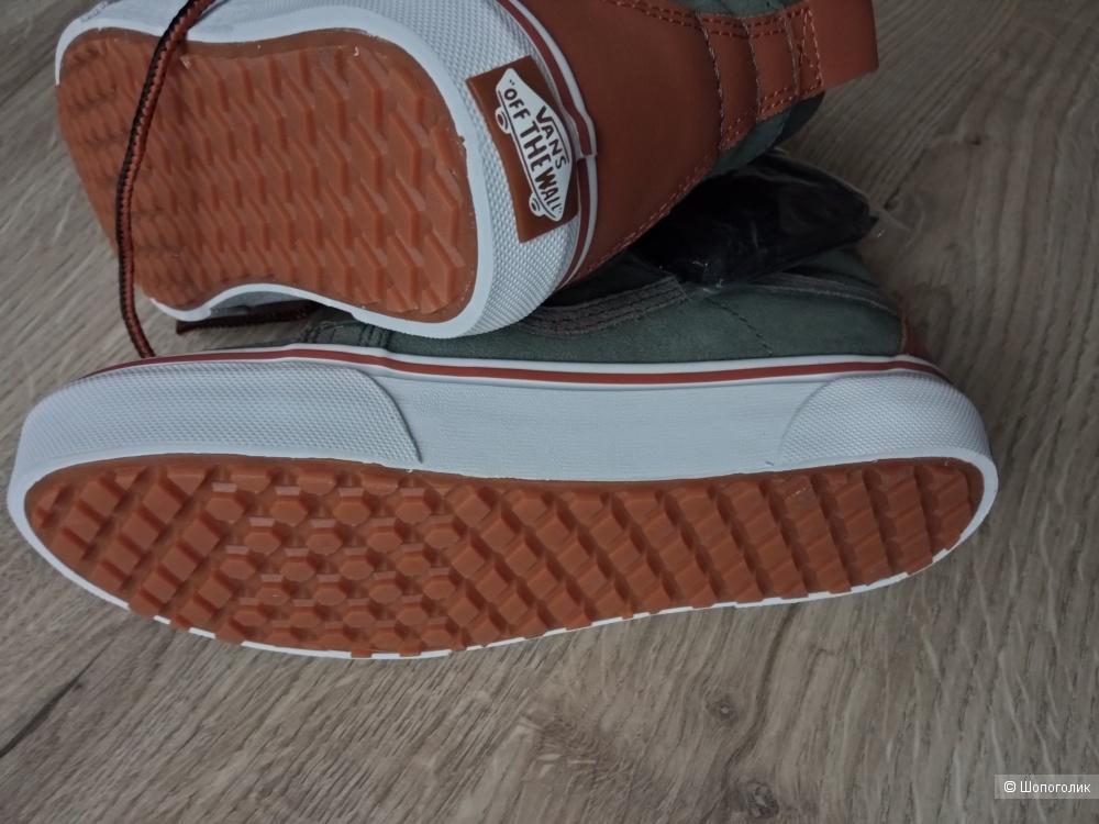 Кожаные кеды Vans размер 34,5