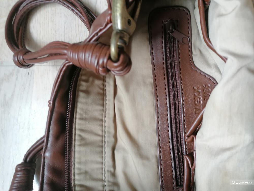 Кожаная сумка Mexx