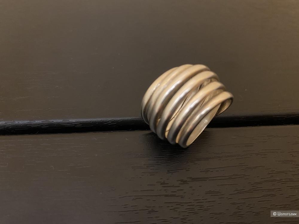 Кольцо серебро 925 пробы 16,5 размер