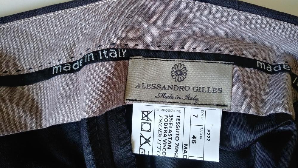 Брюки мужские ALESSANDRO GILLES, размер 46-48