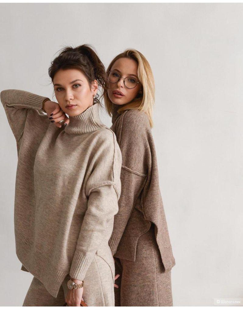 Костюм спорт шик Wool style,46-52