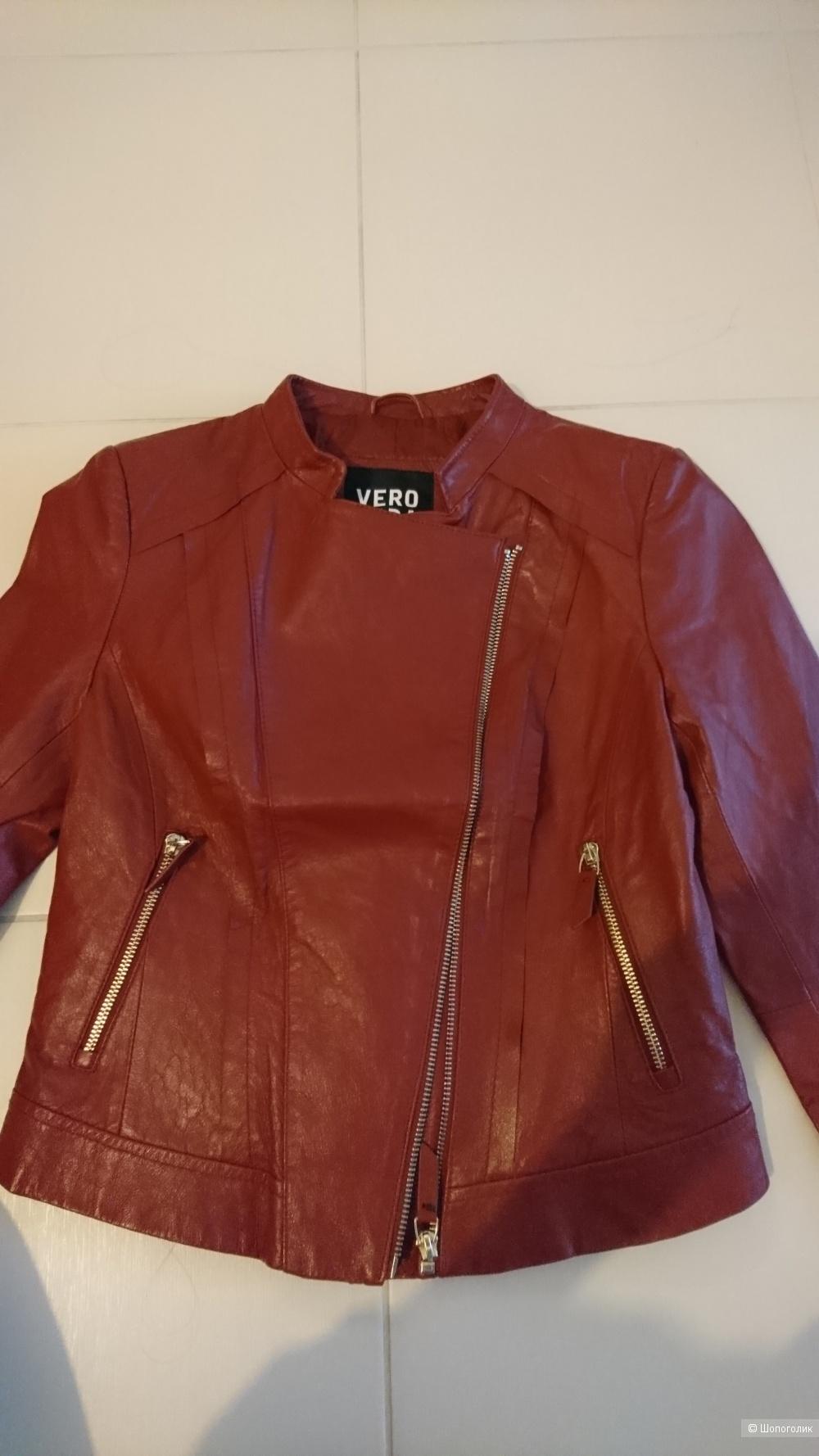 Куртка кожаная VERO MODA р.42
