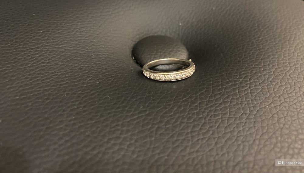 Кольцо из серебра 925 пробы 17 размер