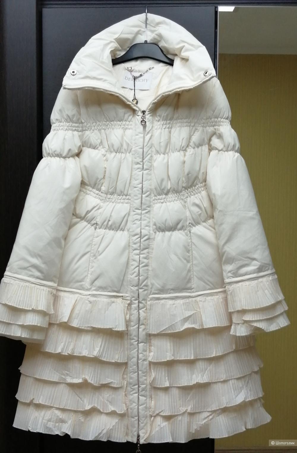 Пуховик-пальто Dernichy 44 размер