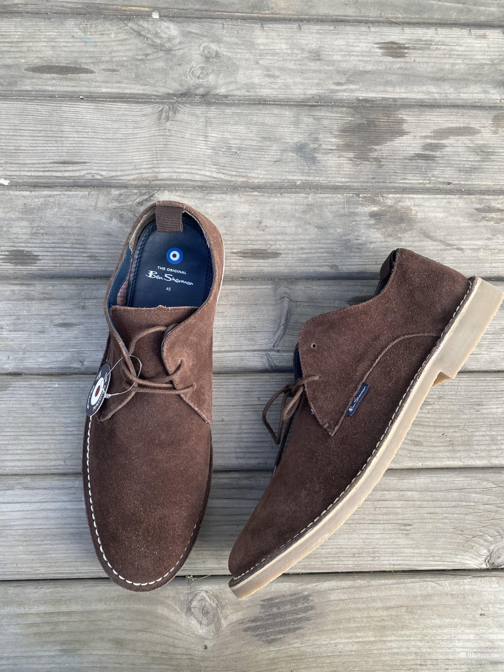 Замшевые ботинки Ben Sherman 45
