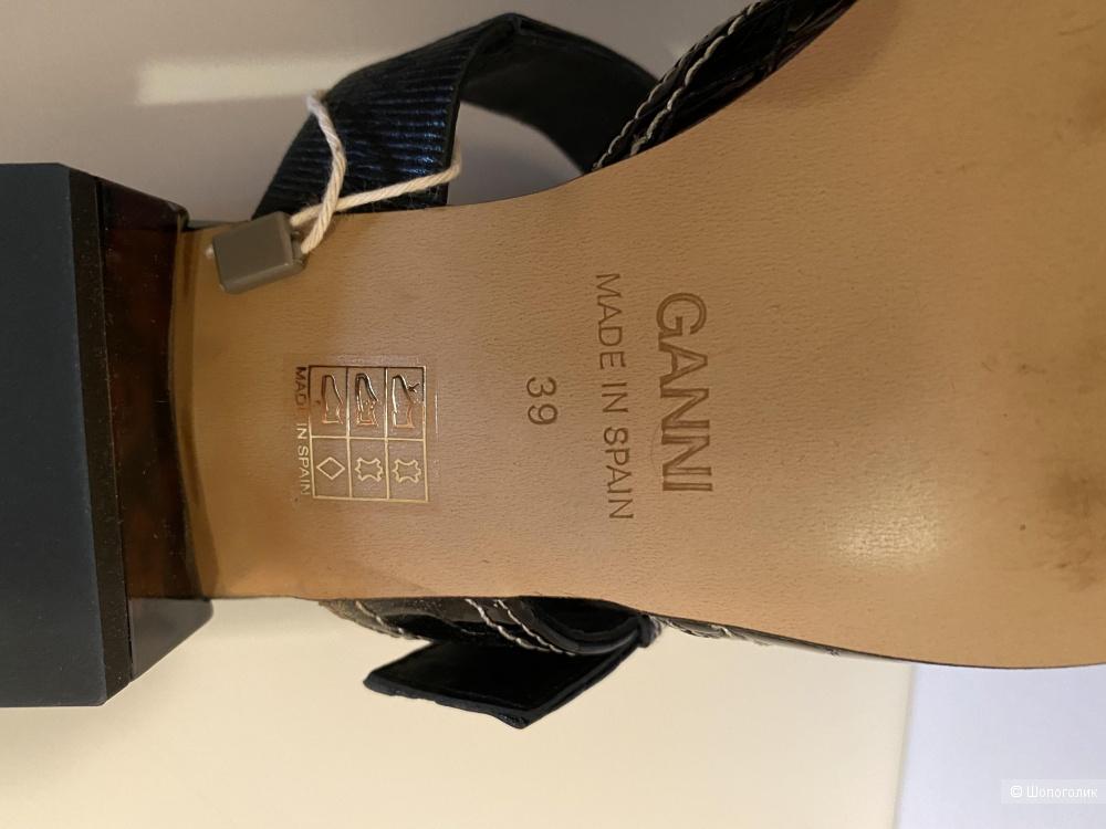 Ganni мюли 39 размер