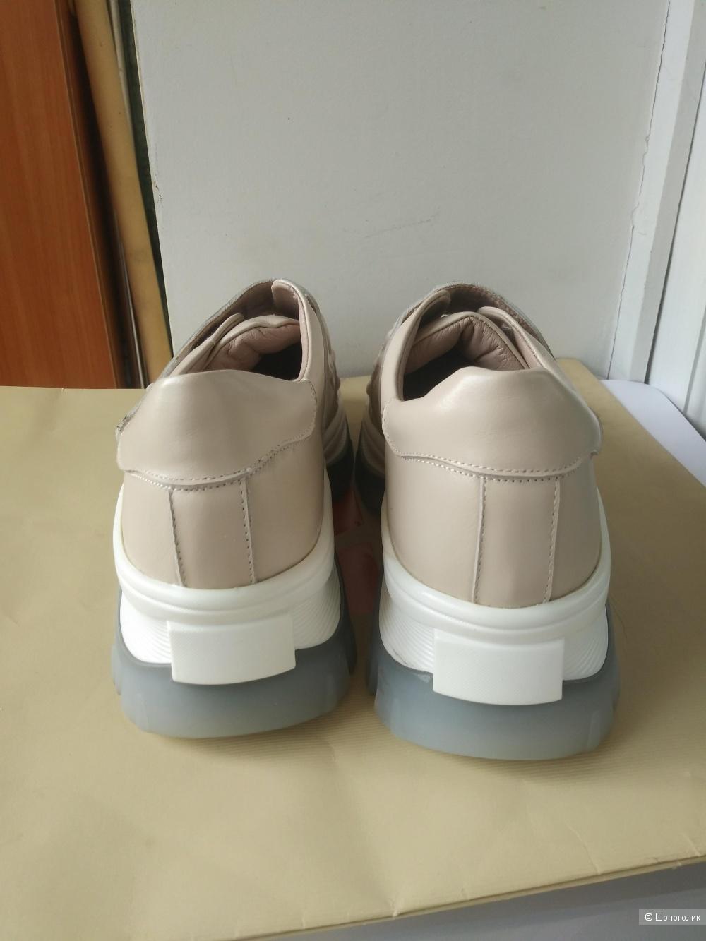 Женские туфли - оксворды  Krazing.размер 38.