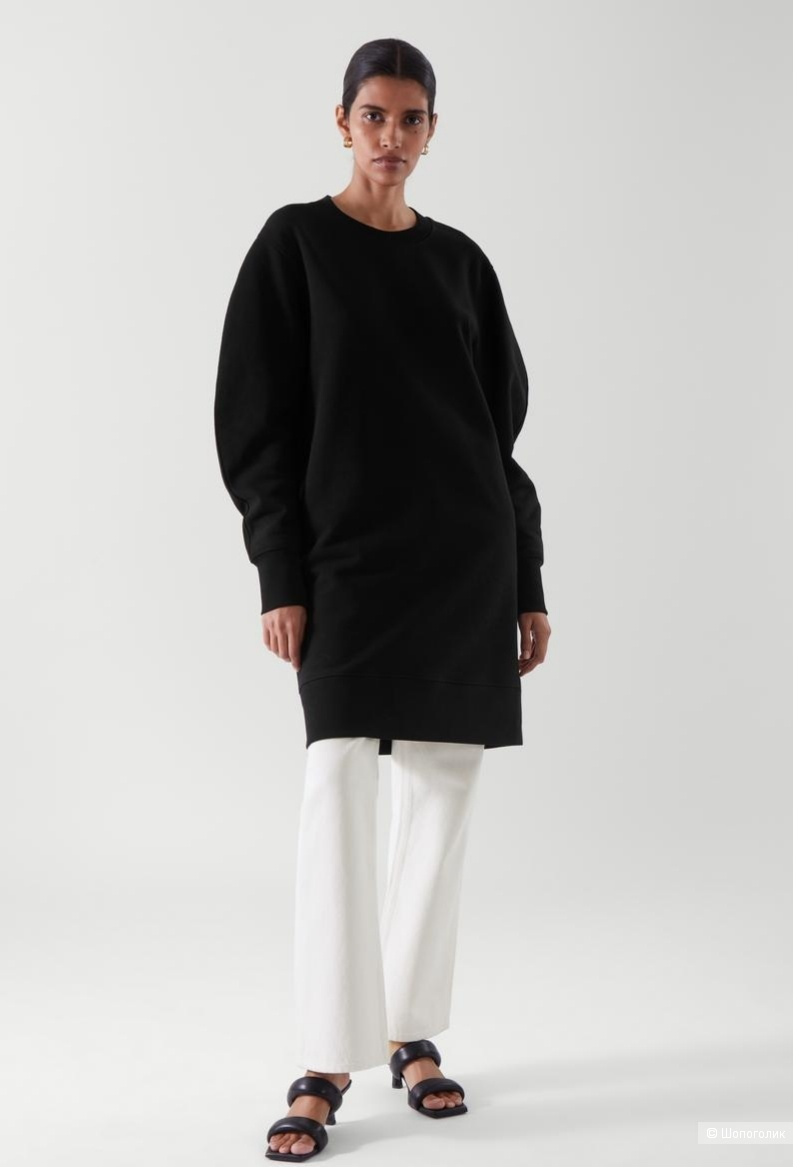 Платье-свитшот cos, размеры xs/s, s/m