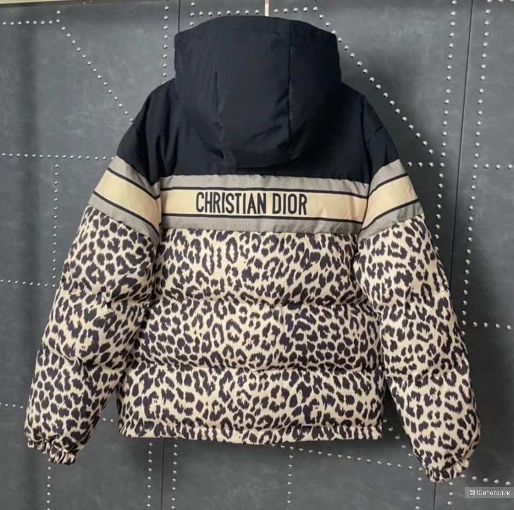 Куртка пуховик двусторонний в стиле Dior,42-48