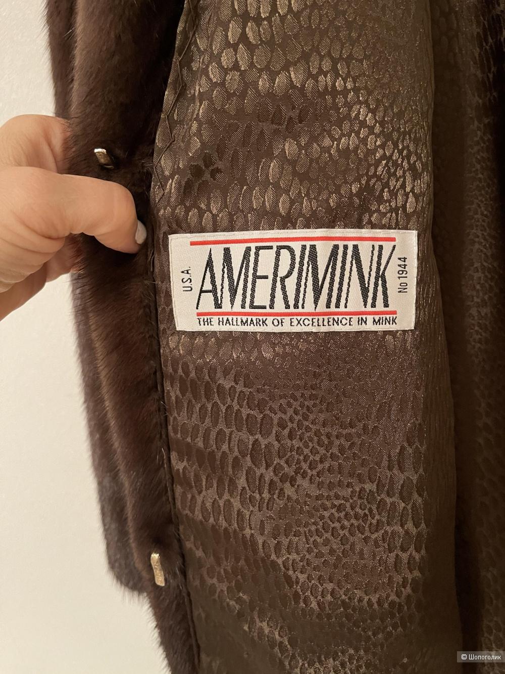 Шуба норка Amerimink L, XL