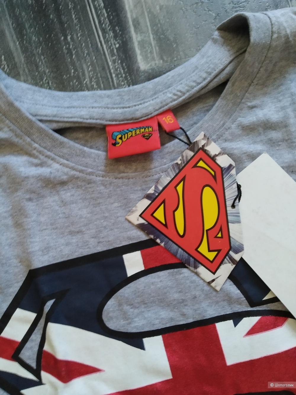 Футболка superman размер 158-164