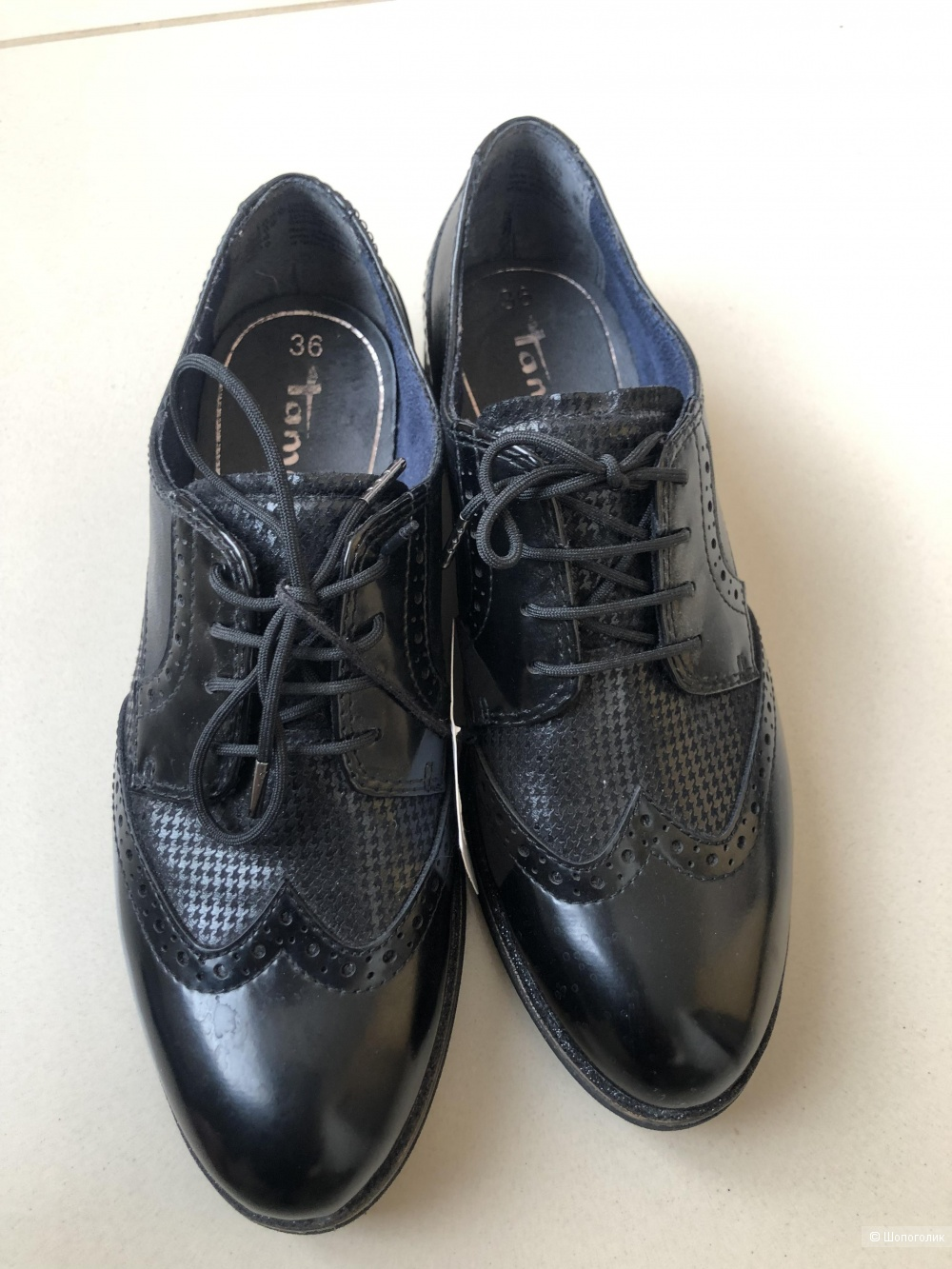 Ботинки-Оксфорды Tamaris 36 размер