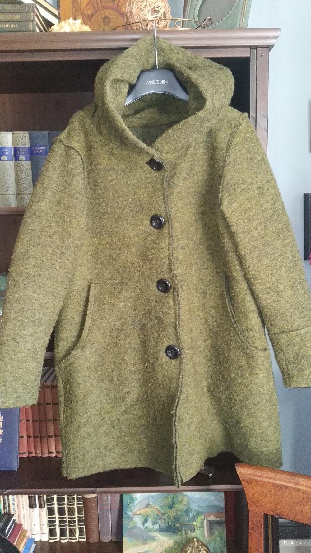 Итальянское пальто ноу нейм ,48-50