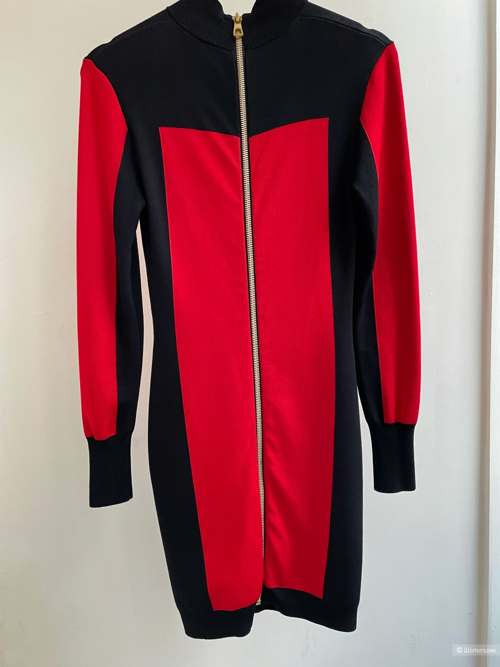 Платье Balmain x H&M S-M