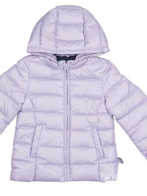Куртка-пуховик для девочки Benetton 6-7 (s)