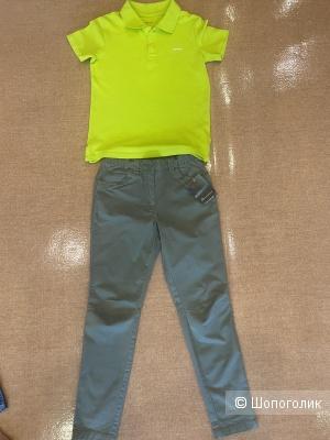 Сет lдля мальчика из 2-х вещей: брюки Outventure + футболка Demix (10-11 лет), 140-146 см