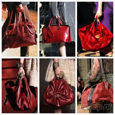 Модные сумки - цветовая гамма весна-лето 2012.