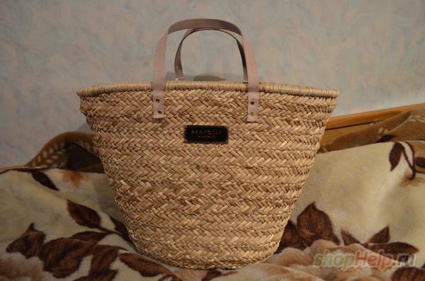 Покупалась на www.swimwearboutique.com за 55  + 10 доставка. Отдам за 650  р. Предпочтительнее Питер, так как сумка большая, но могу и переслать. 87c41bb01b2