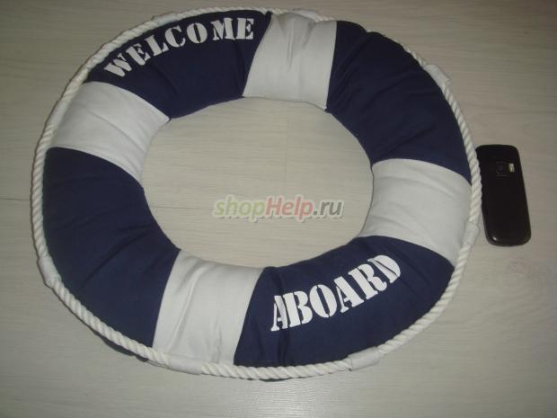 Декоративный спасательный круг своими руками
