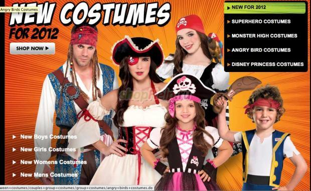 Halloween new costumes pictures