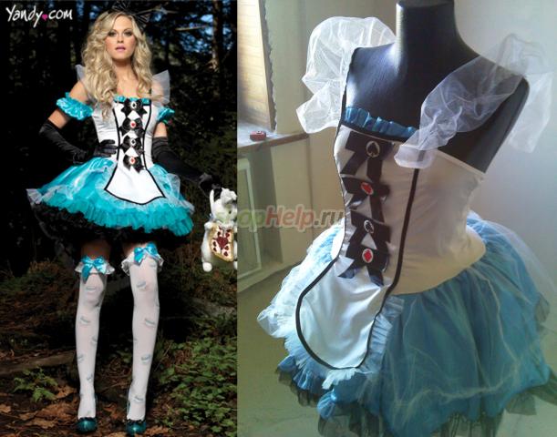 Как сделать костюмы из алисы в стране чудес