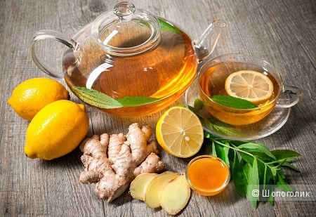 Народные средства от тошноты - имбирный чай