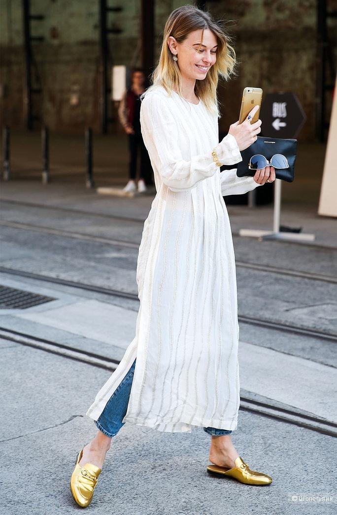 Платье с брюками образы
