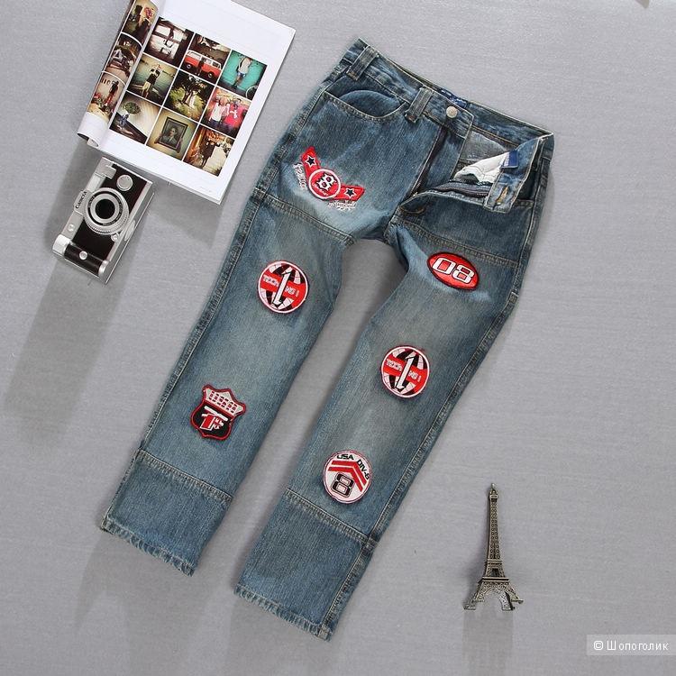 Нашивки из джинсы