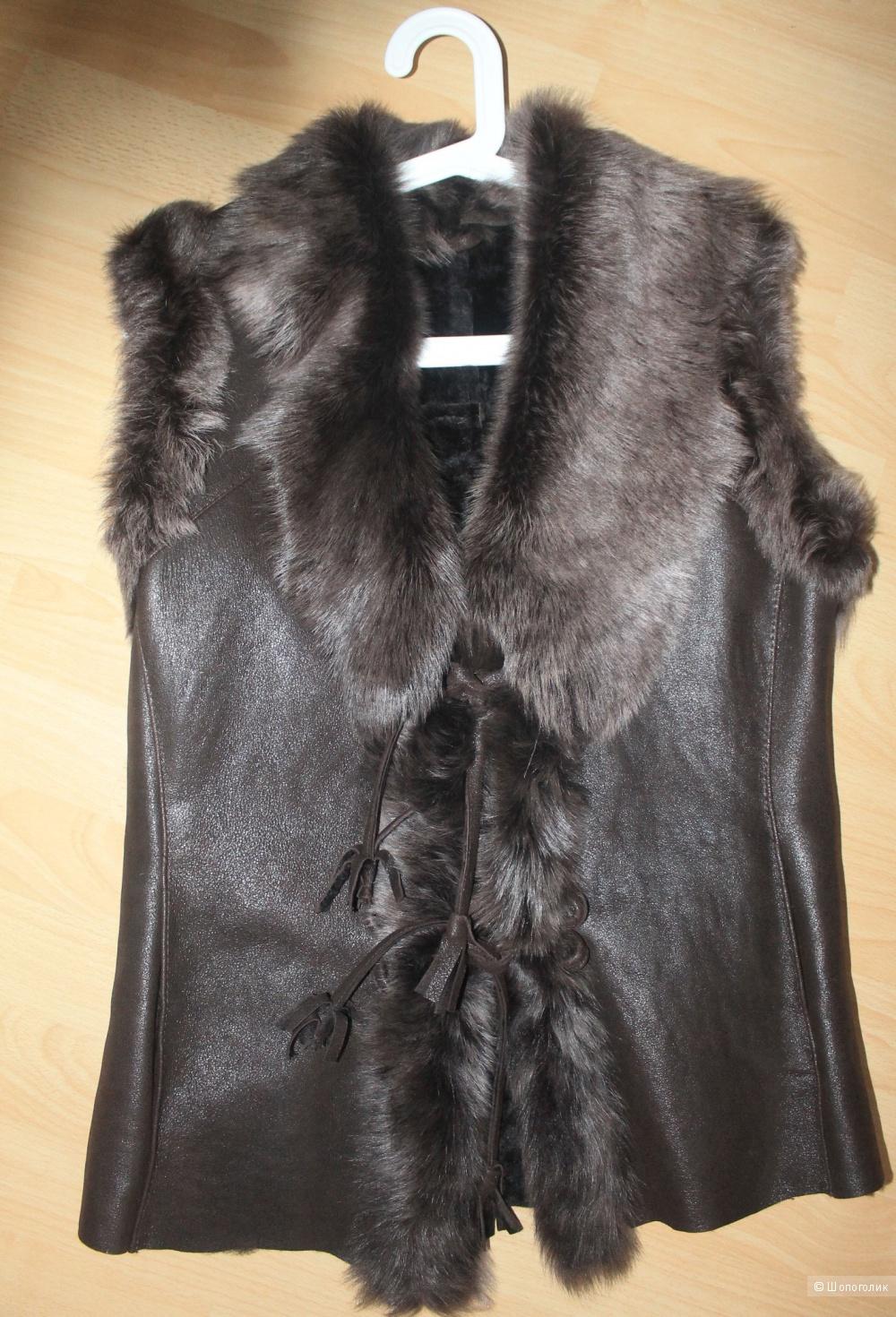 Куртки из меха и кожи