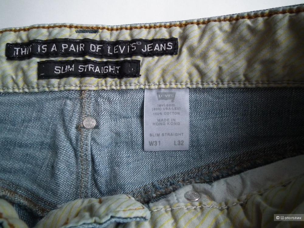 джинсы левис мужские 511