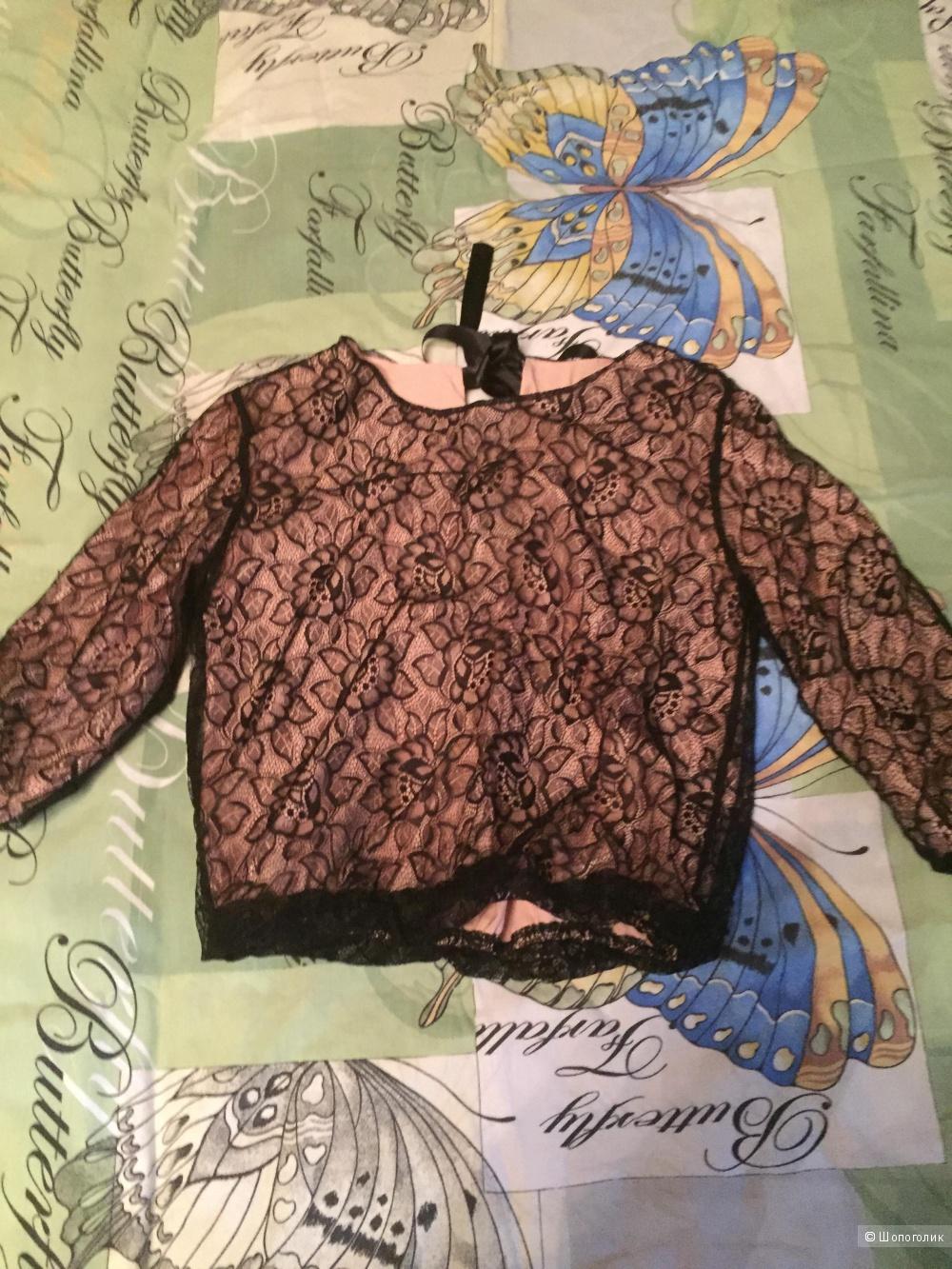 Блузка кружево купить в