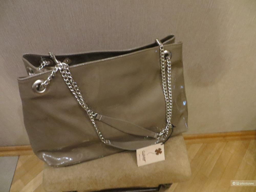 Черная сумка CHANEL 255 Caviar Classic Flap Bag Mini
