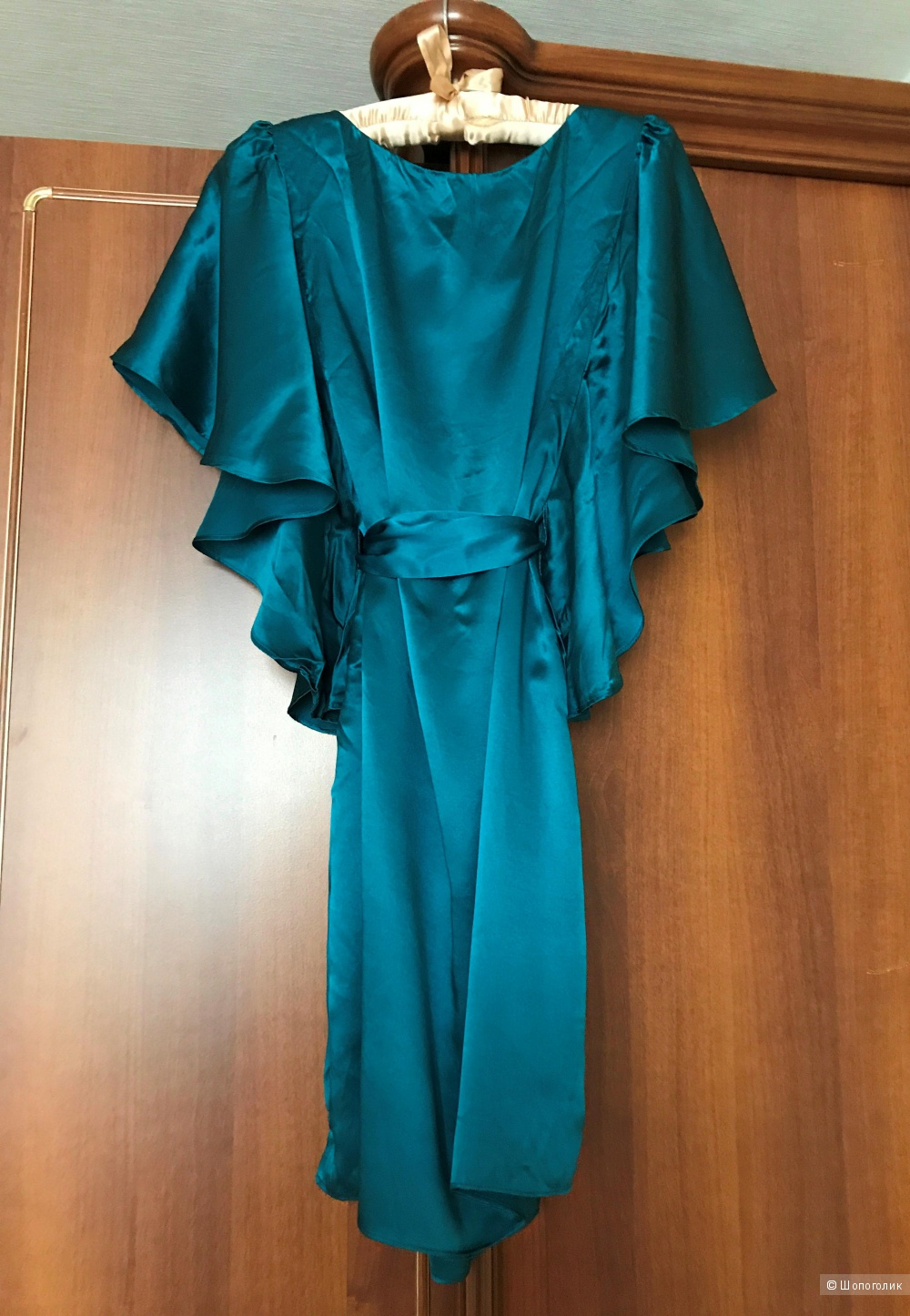 Туника платье шелковое