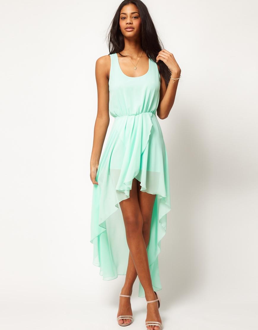Платье короткое спереди длинное сзади картинки