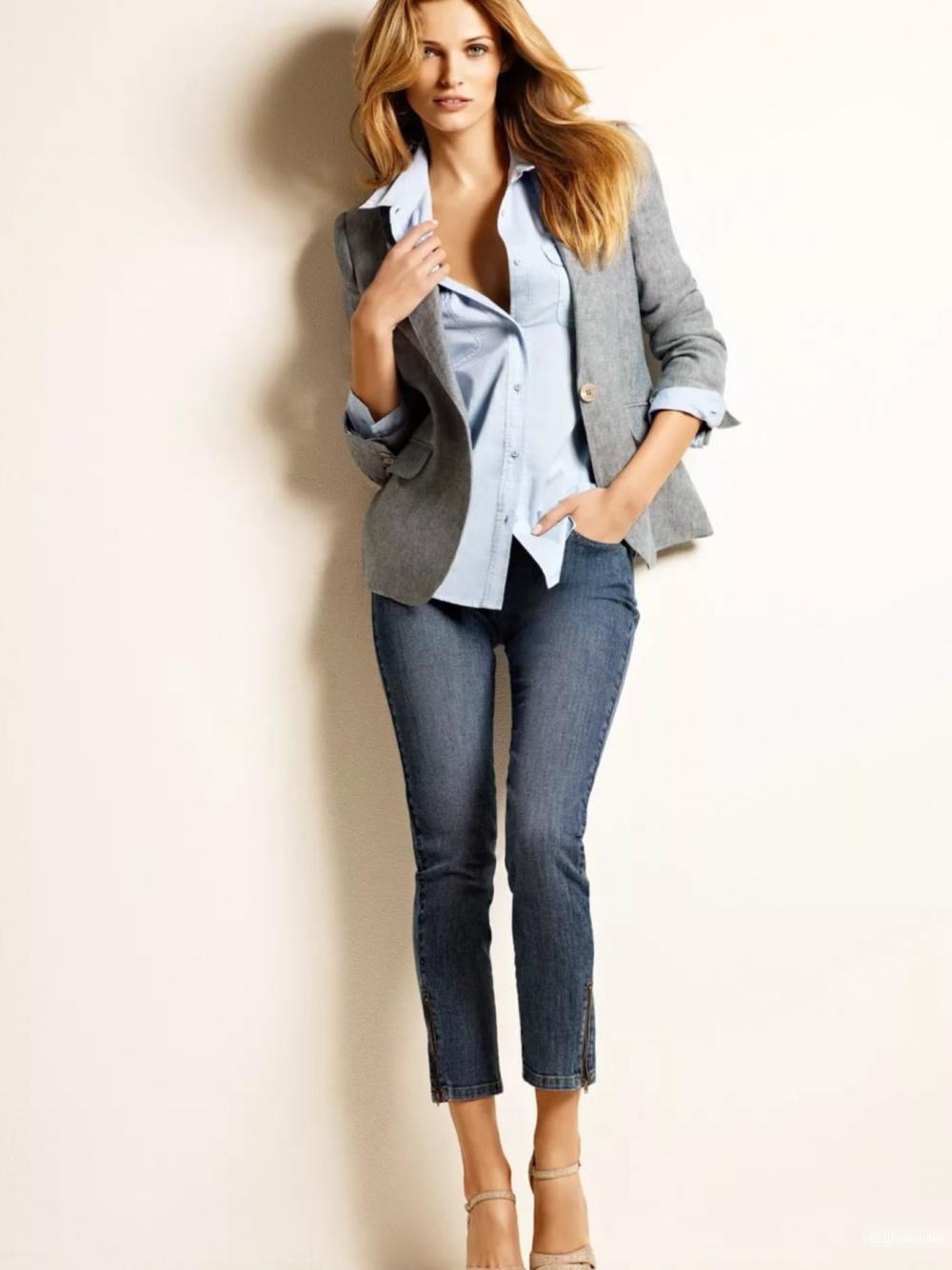 с чем носить серый пиджак женский фото сова